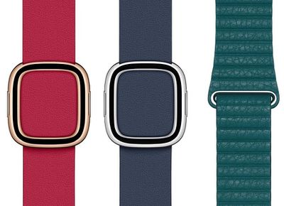 leather bands spring 2020
