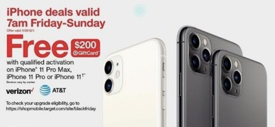 target iphone 11 black friday 2019