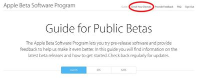 moajve beta enroll your devices