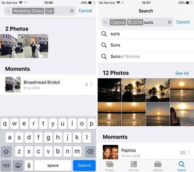 ios 12 photos app new features