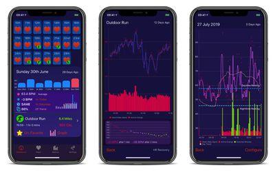heart analyzer app screens