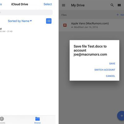 google drive docx files