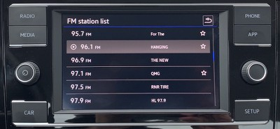 jetta radio list