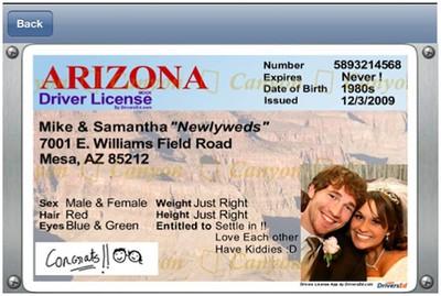 drivers license app arizona