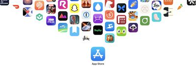 apple app store page