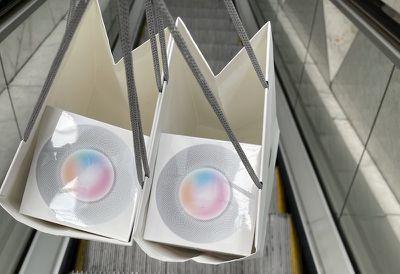 homepod mini in bag