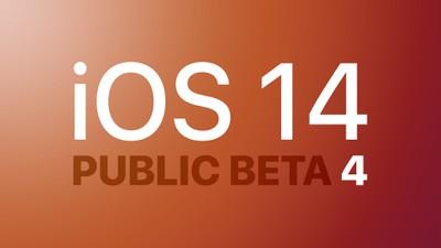 iOS 14 Beta 4 public