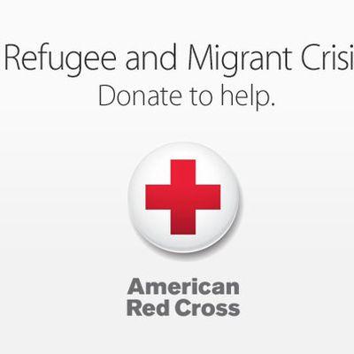 Apple Red Cross Migrant