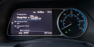 nissan leaf charge timer