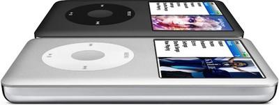 143612 ipod classic black silver