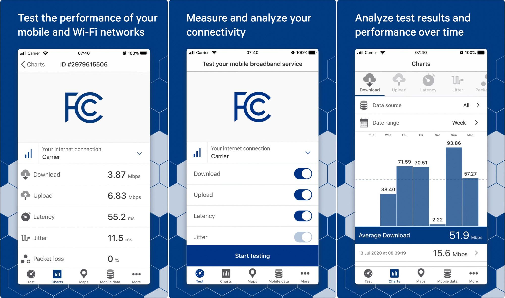 FCC Asks People to Use FCC Speed Test App to Measure U.S. Broadband Availability