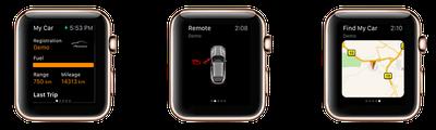 Porsche Apple Watch App