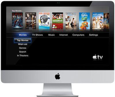 imac apple tv