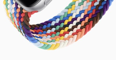 apple watch braided pride band 2021