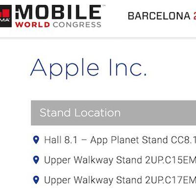 Apple MWC