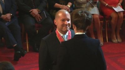 jonathan ive knighted