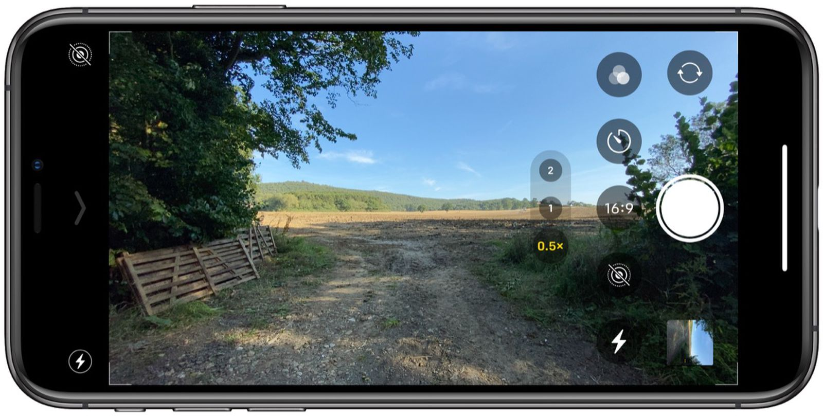 How To Select Camera Aspect Ratio On Iphone 11 And Iphone 11 Pro Macrumors