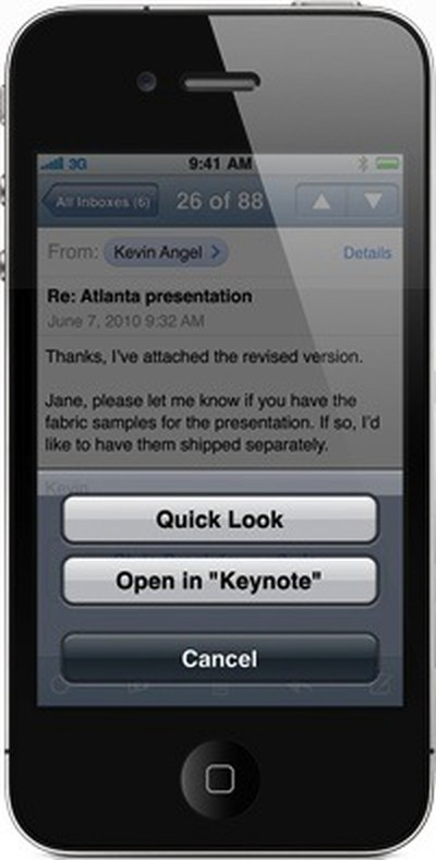 155853 mail iphone keynote