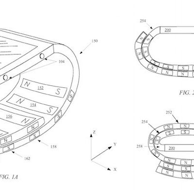 magnetic wristband apple watch patent