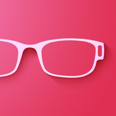 Apple Glasses Pink Feature