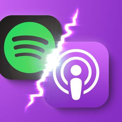 spotify vs apple podcasts feature