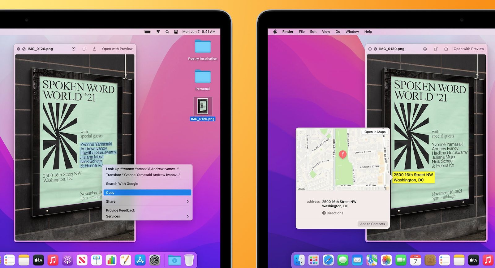 Several macOS Monterey Features Unavailable on Intel-Based Macs