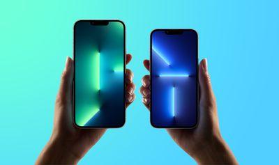 iphone 13 pro max display bleen