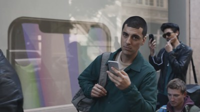 samsung ad iphone x 2