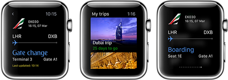 Emirates Apple Watch