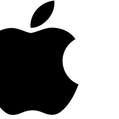 apple logo plain