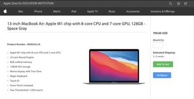 128gb m1 macbook air education cropped