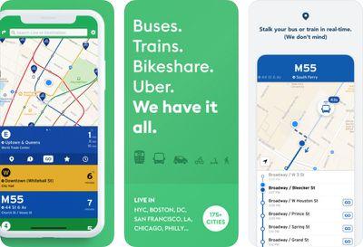 transit app trio