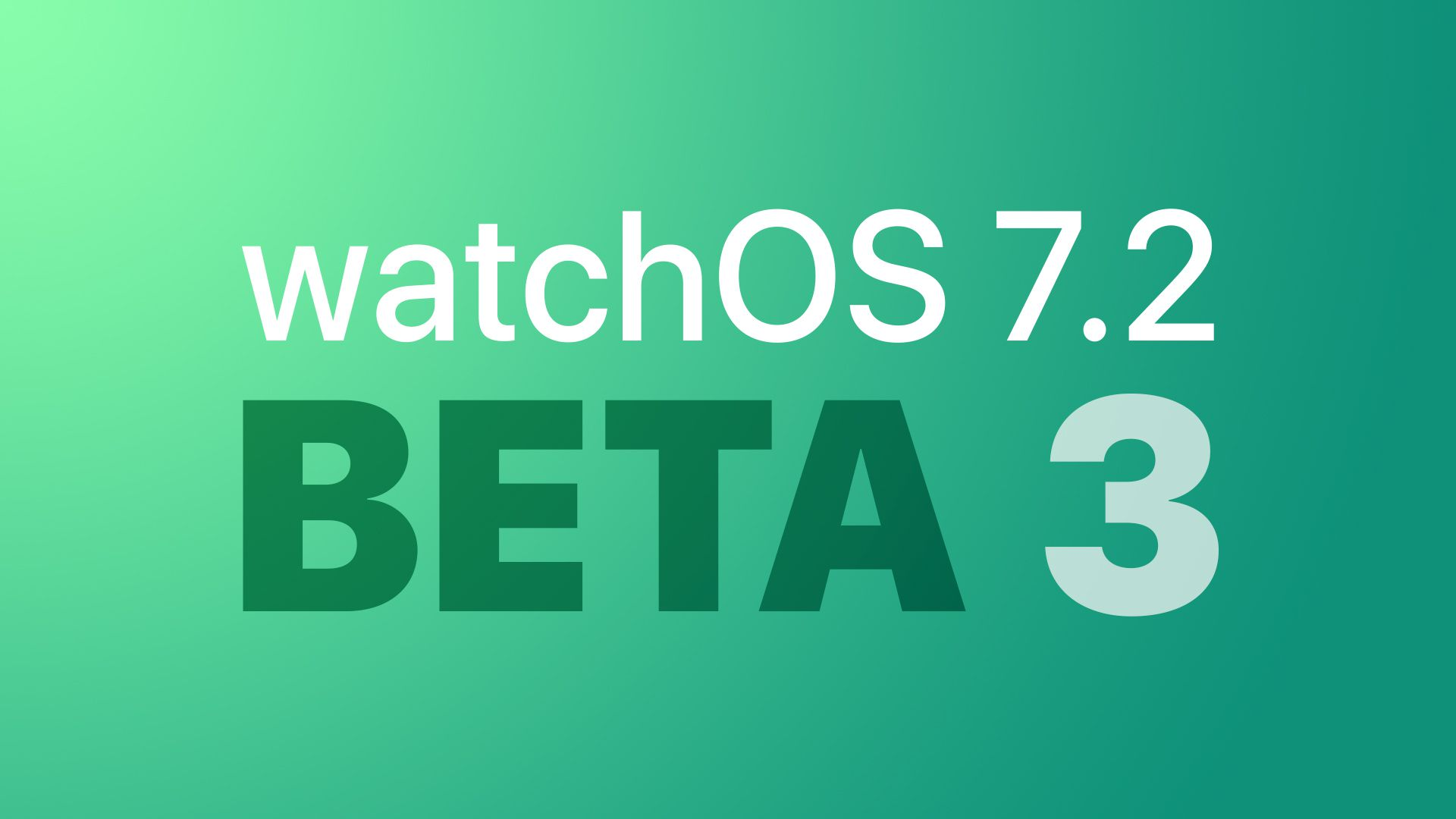 photo of Apple Seeds Third Beta of watchOS 7.2 to Developers image