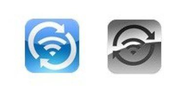 wi fi sync icons
