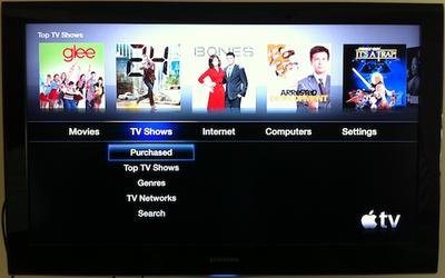 apple tv 4 3 purchased