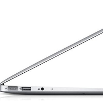 macbook air open finger