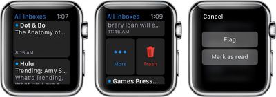 Mail on Apple Watch 2