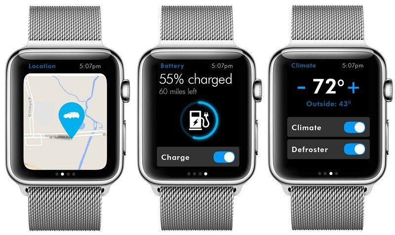 volkswagen watch app