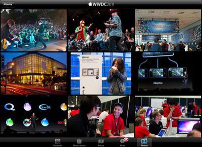 wwdc2011 app photos