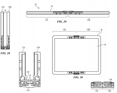 apple patent foldable device movable flaps 2