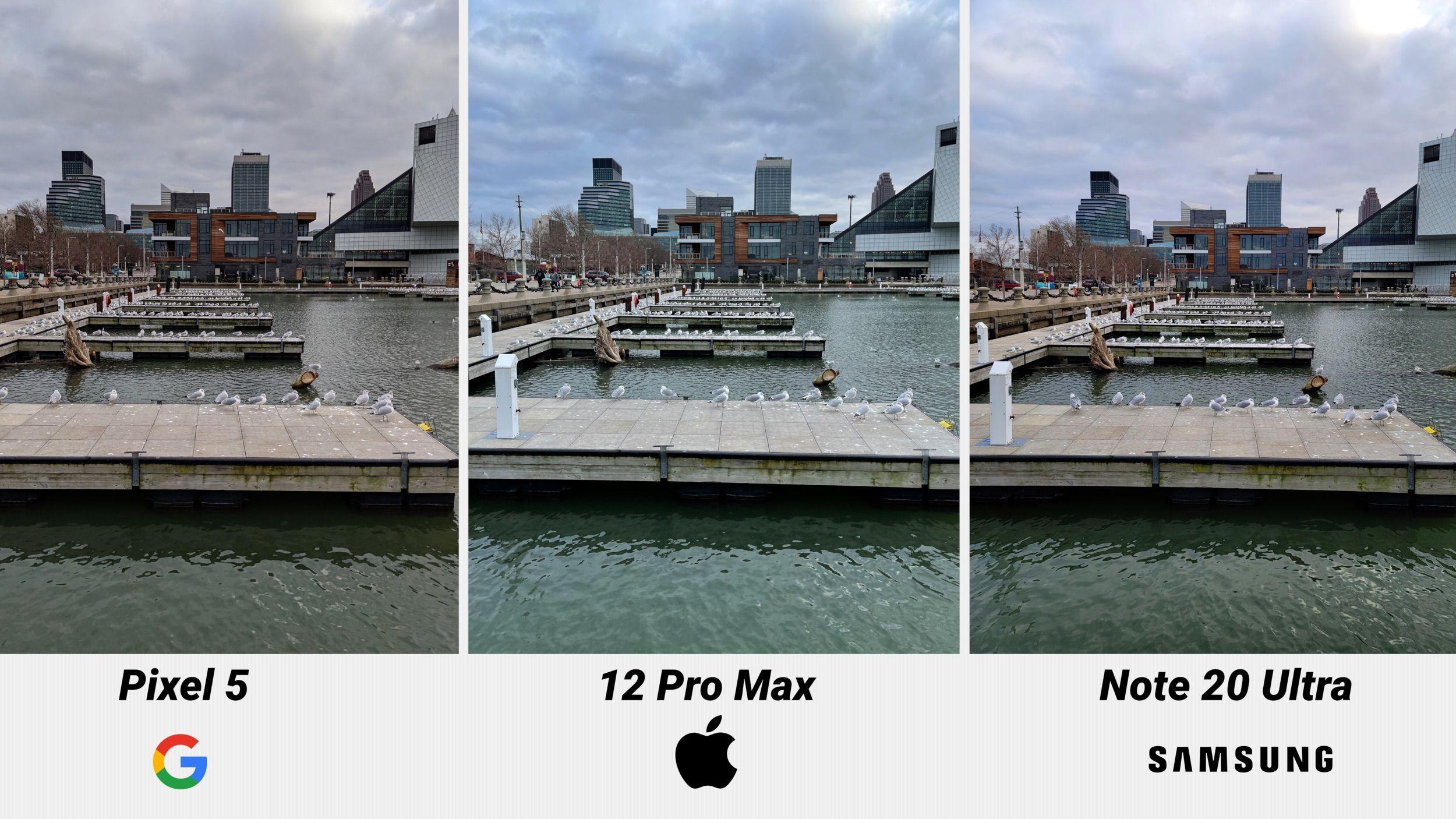 So sánh ảnh:  iPhone 12 Pro Max vs. Google Pixel 5 vs. Samsung Galaxy  Note 20 Ultra - MacRumors