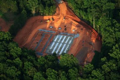maiden data center fuel cell aerial
