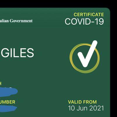 COVID19 Digital Wallet Apple Wallet