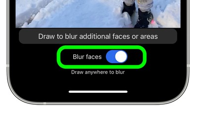 how to signal blur faces 4