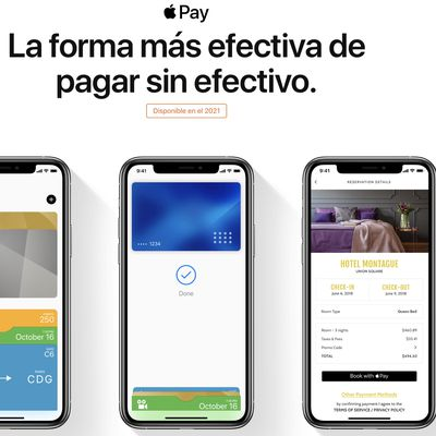 apple pay mexico 2021