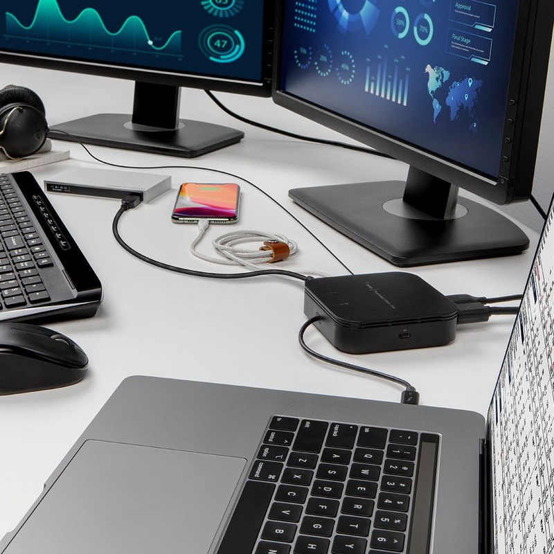 , Belkin Debuts New Compact 'Dual Power' Thunderbolt 3 Dock Core, sinroid