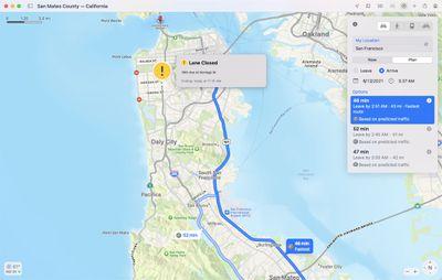 maps monterey estimated