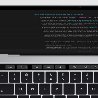 MacBook TouchBar