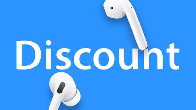 AirPods Discount Deals Blue