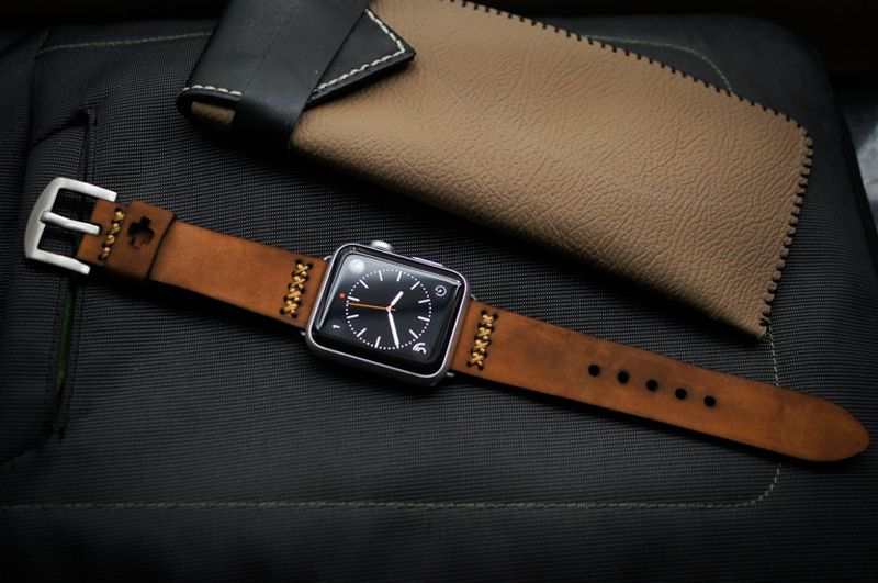Apple Watch Brown Band